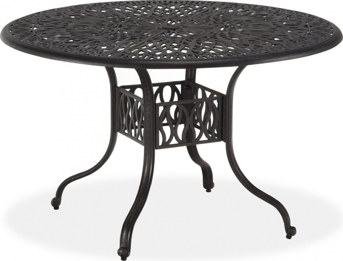 Home Styles Floral Blossom 42′ Round Outdoor Dining Table