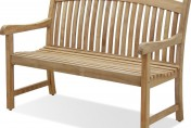 Amazonia Teak Newcastle Outdoor Teak Garden Bench