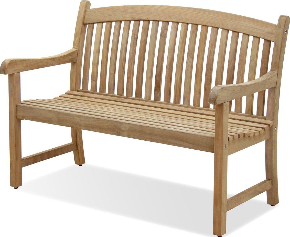 Amazonia Teak Newcastle Outdoor Teak Garden Bench - Patio Table