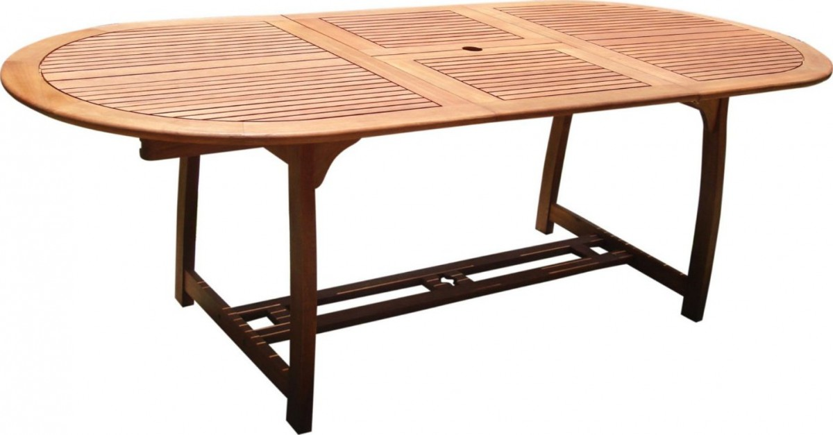 Vifah V503 Outdoor Extension Table With Butterfly Patio