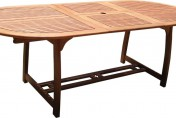 VIFAH V503 Outdoor Extension Table with Butterfly