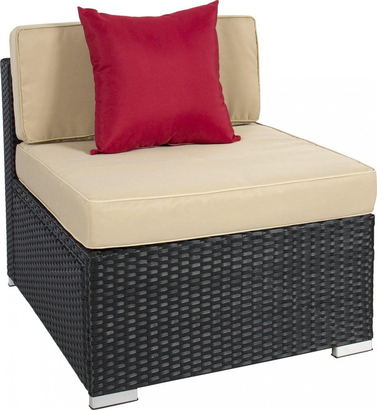 Best choice products pc wicker outdoor sectional sofa set