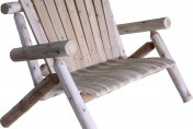 Lakeland Mills 4ft Cedar Log Chair / Loveseat