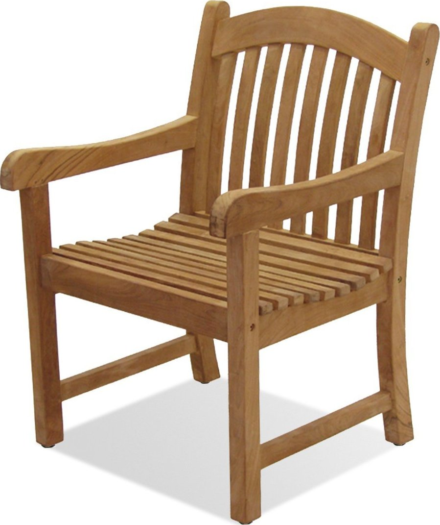 Amazonia Teak Newcastle Outdoor Patio Teak Armchair