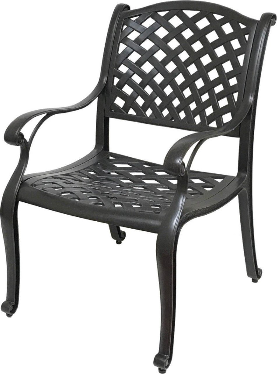 Nevada Cast Aluminum Outdoor Patio Dining Chairs With