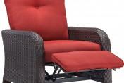 Hanover Strathmere Luxury Wicker Outdoor Recliner Chair