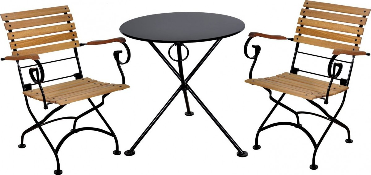 Furniture DesignHouse 24′ Round Folding Bistro Table