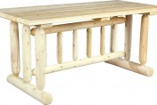 Cedarlooks Cedar Log Rustic Dining Table
