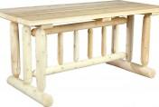 Cedarlooks Cedar Log Rustic Dining Table