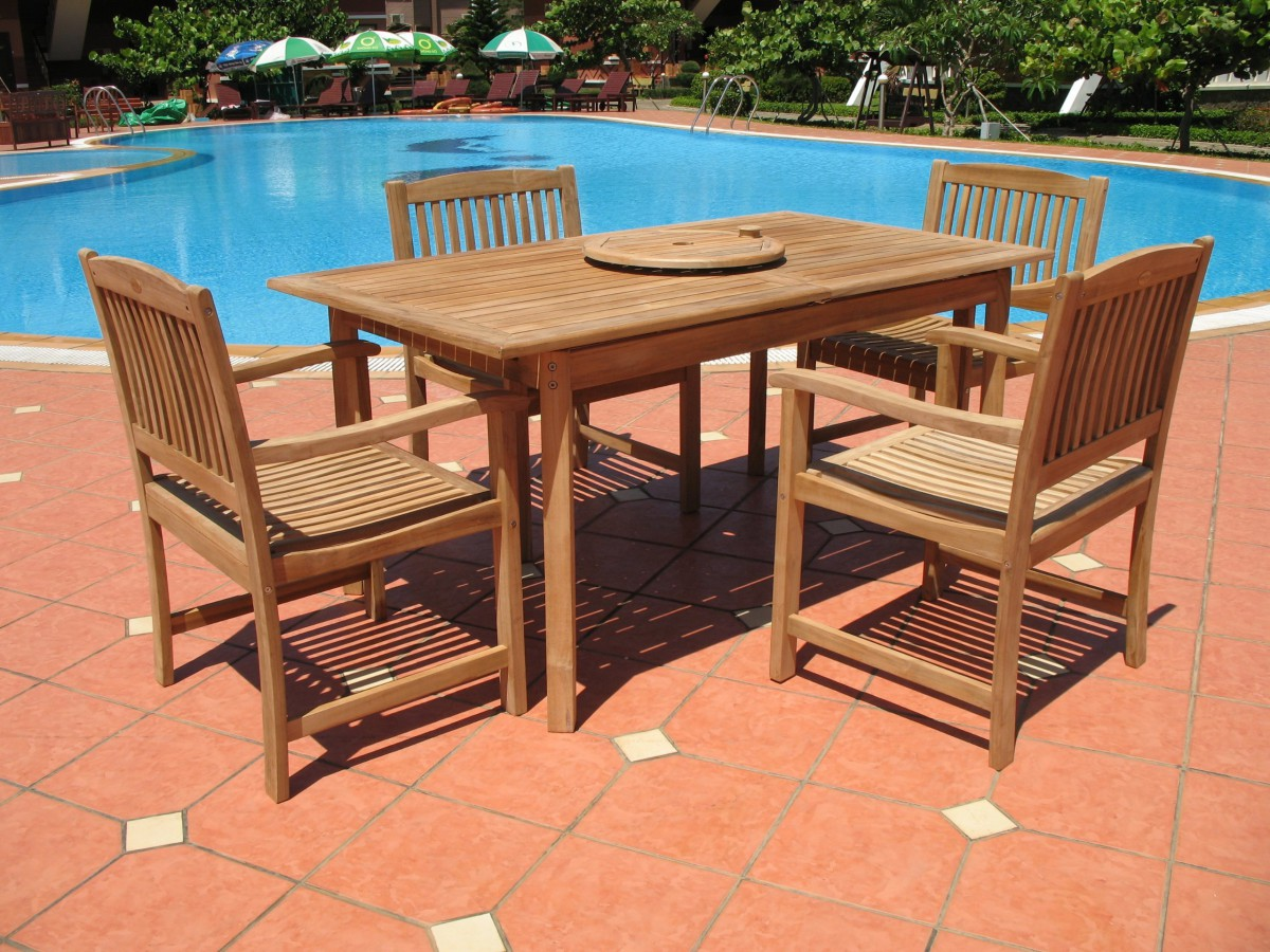 Teak Patio Dining Sets Picture