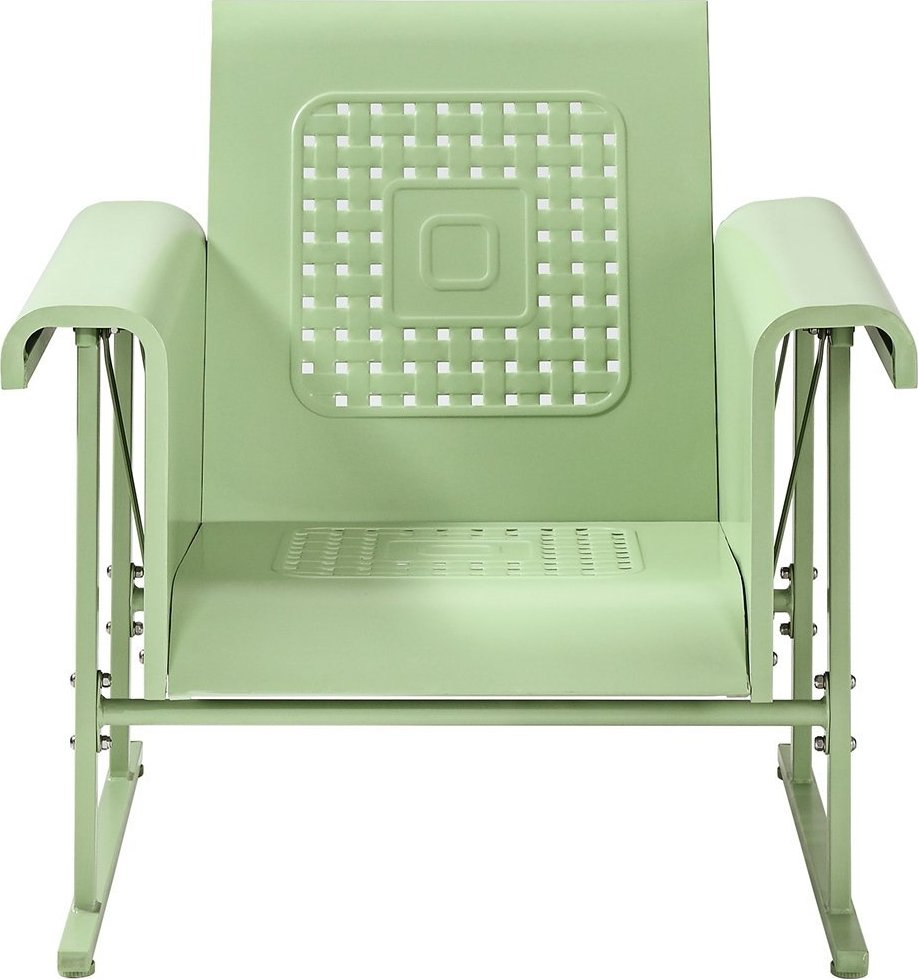 Crosley Metal Outdoor Glider Chair