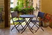 Cantina Bistro 3-piece Folding Dining Set