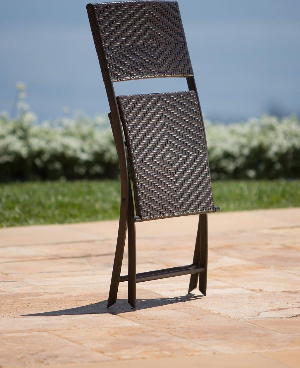 Cantina Bistro 3-piece Folding Dining Set