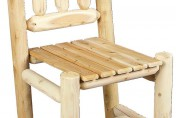 Cedarlooks Cedar Log Rustic Dining Chair