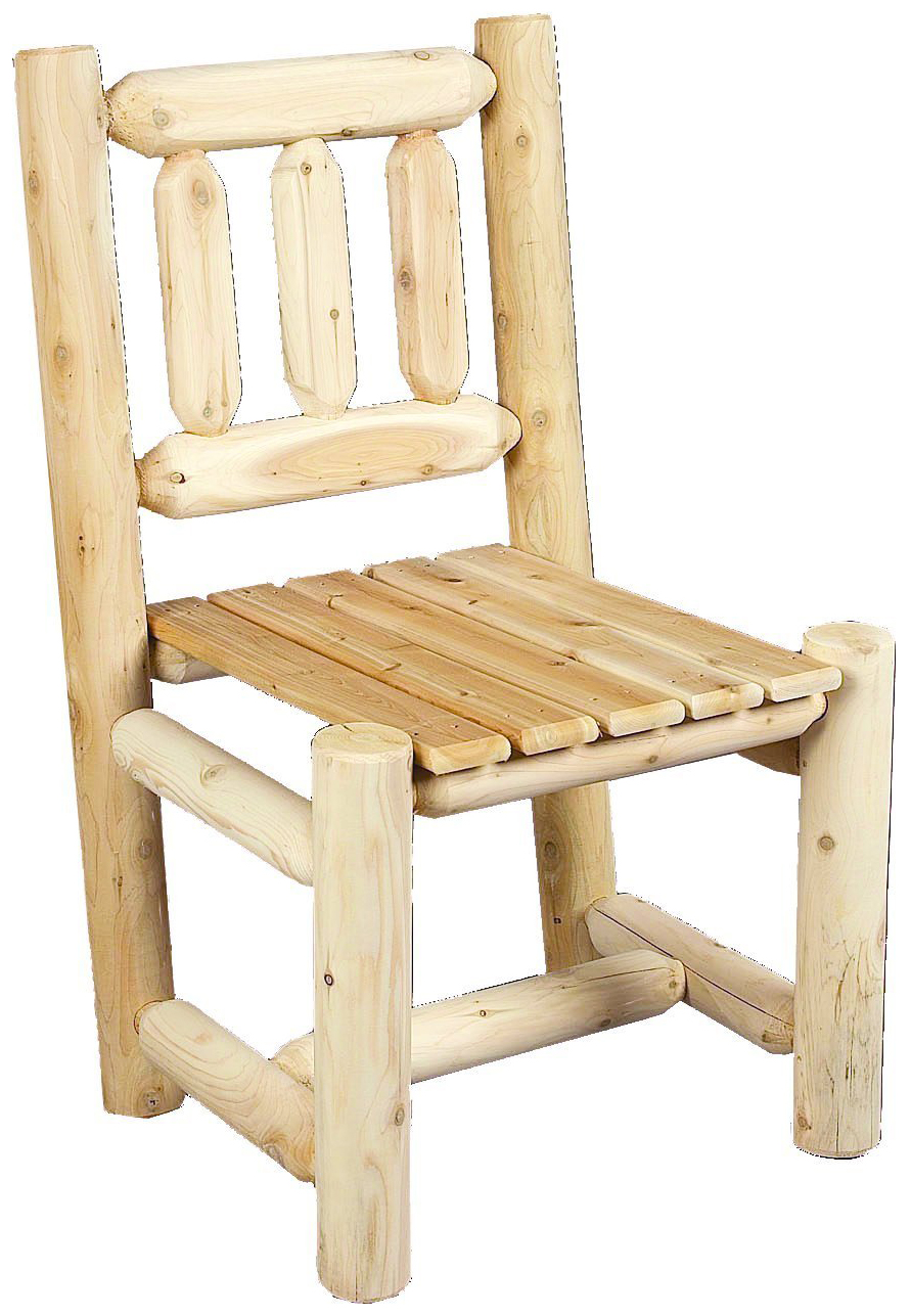 Outdoor Cedar Log Chairs Outdoor Designs