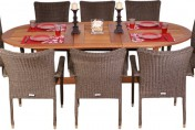 Amazonia Renaissance 9 Piece Patio Dining Set