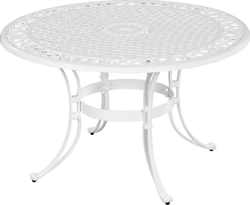Home Styles Biscayne Round Outdoor Dining Table Patio Table - 48 inch round conference table