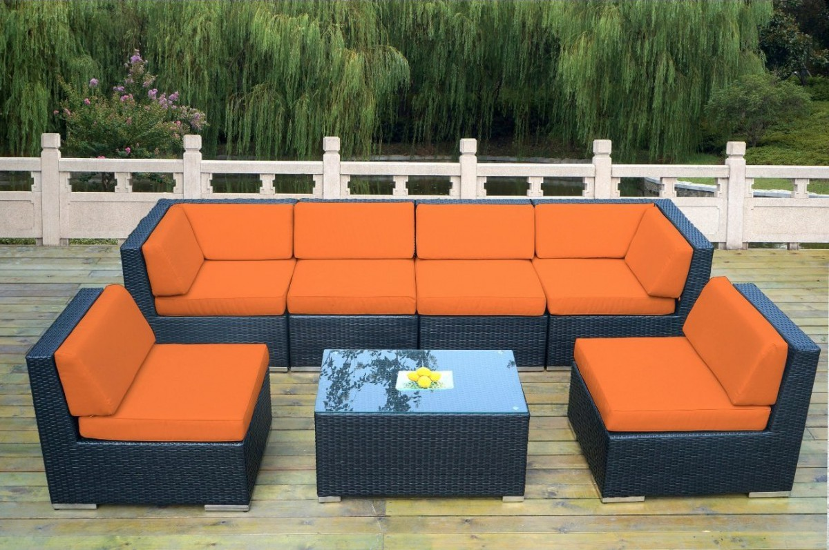 Sunbrella sectional sofa dune outdoor sectional with sunbrella fabric crate and barrel thesofa - Furnitur photos ...