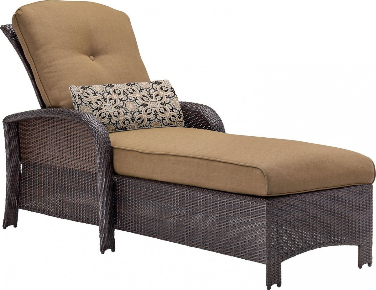hanover strathmere wicker outdoor chaise lounge chair. Black Bedroom Furniture Sets. Home Design Ideas