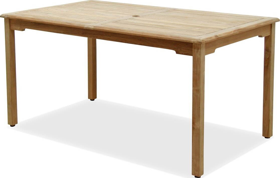 Amazonia Teak Maliana Rectangular Teak Outdoor Dining Table