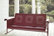 Crosley Metal Outdoor Glider Bench Sofa