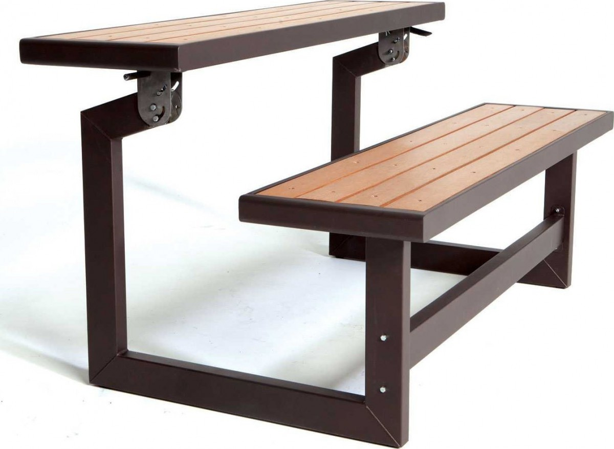 Lifetime Convertible Picnic Table Bench