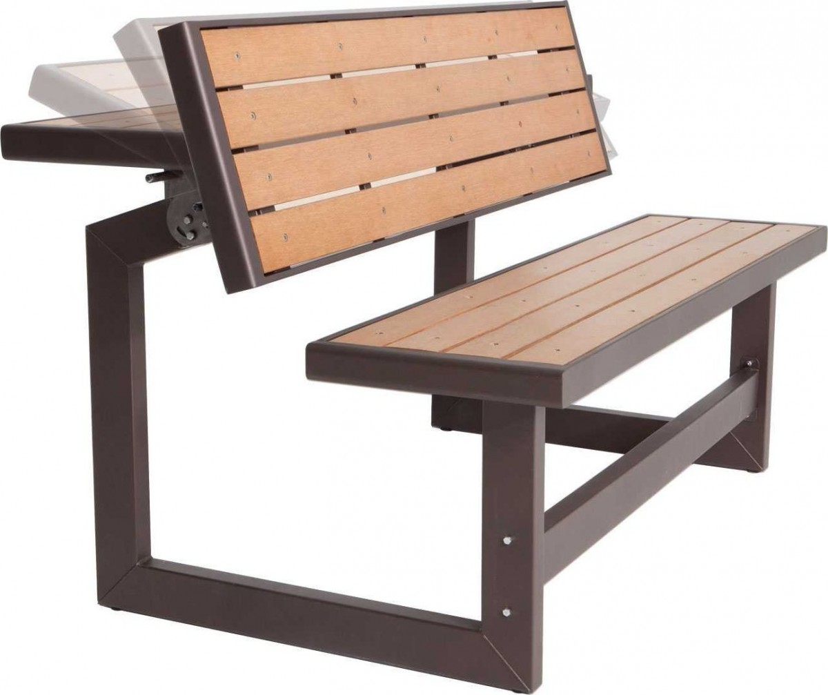 Lifetime Convertible Picnic Table Bench Patio Table