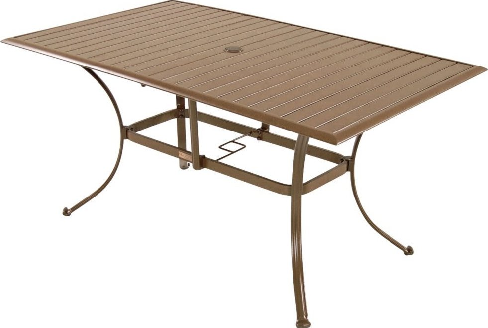 Panama Jack Island Breeze Rectangular Patio Table