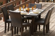 All-Weather Wicker 7-Piece Outdoor Patio Dining Set