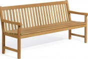 Oxford Garden Classic Shorea Outdoor Teak Wood Bench