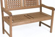 Amazonia Porto Real Eucalyptus Outdoor Wood Bench