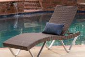 Manuela Ergonomic Wicker Outdoor Chaise Lounge Chair