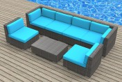 Urban Furnishing OAHU 7pc Outdoor Sectional Sofa Set