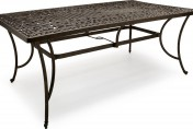 Strathwood St. Thomas Cast Aluminum Rectangular Patio Table