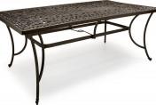 Strathwood St. Thomas Cast Aluminum Rectangular Patio Table