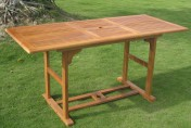 International Caravan Royal Tahiti Butterfly Leaf Patio Table