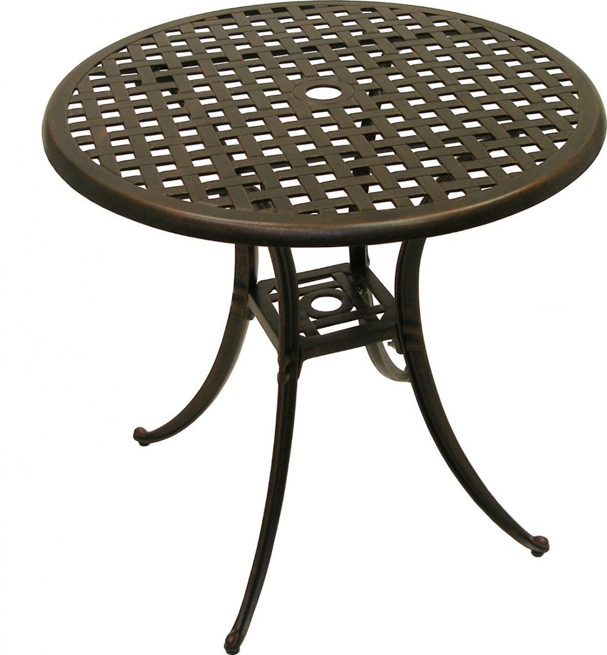 American Trading Company Weave Round Patio Dining Table