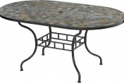 Home Styles Stone Harbor Oval Outdoor Dining Table