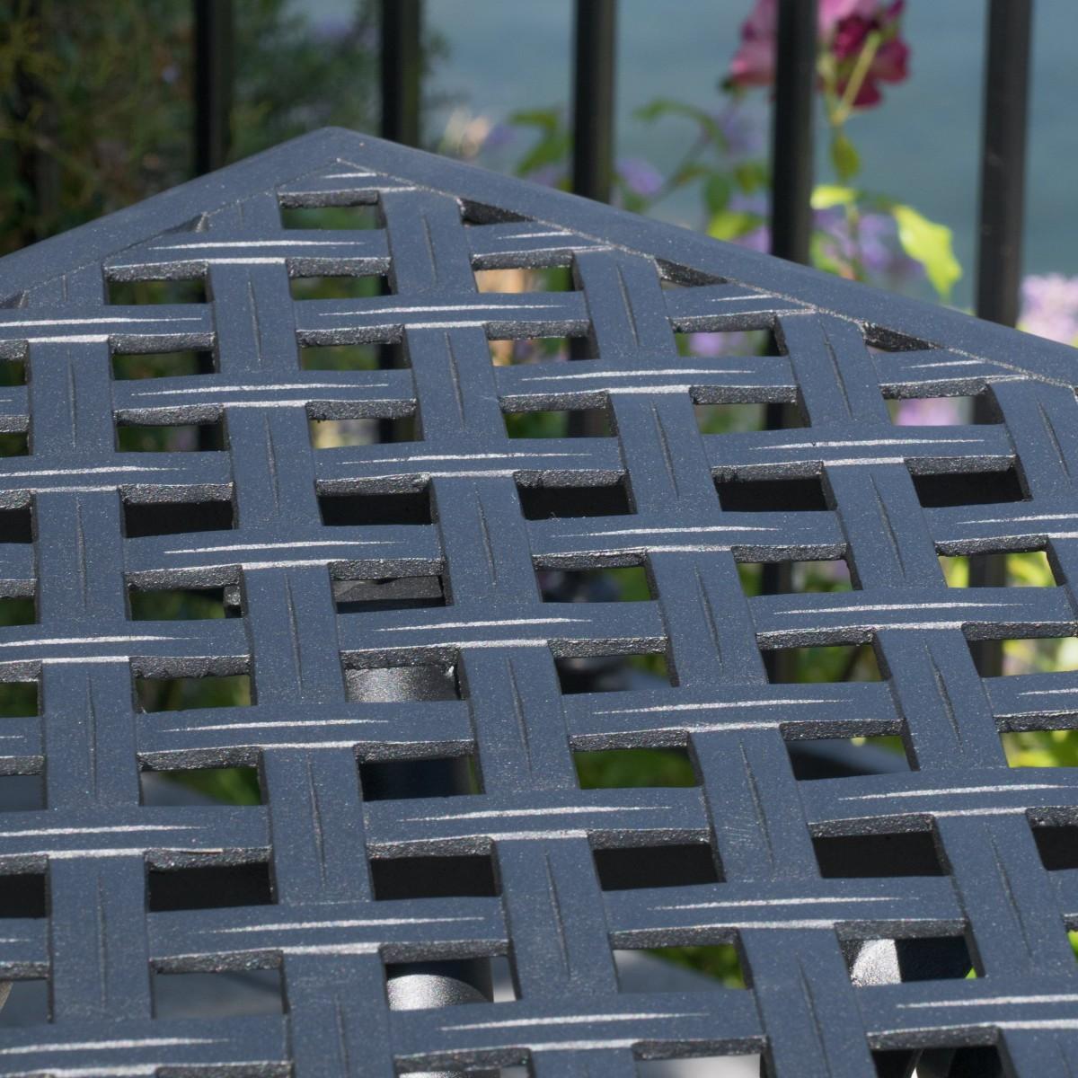 Marietta Cast Aluminum 7 Piece Outdoor Dining Set