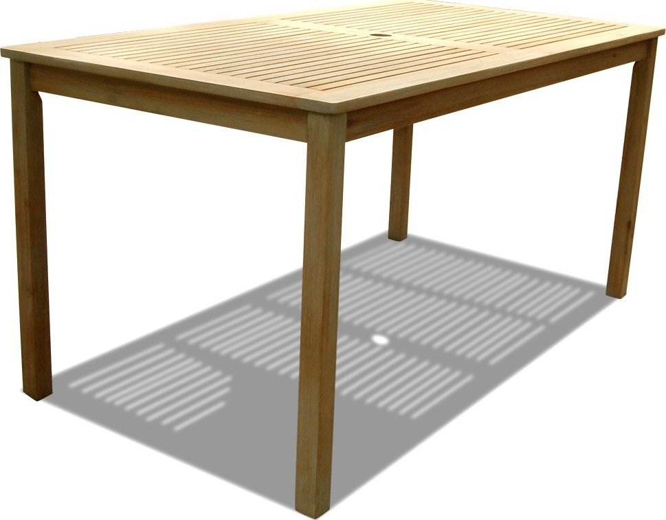 Vifah Renaissance Rectangular Outdoor Dining Table