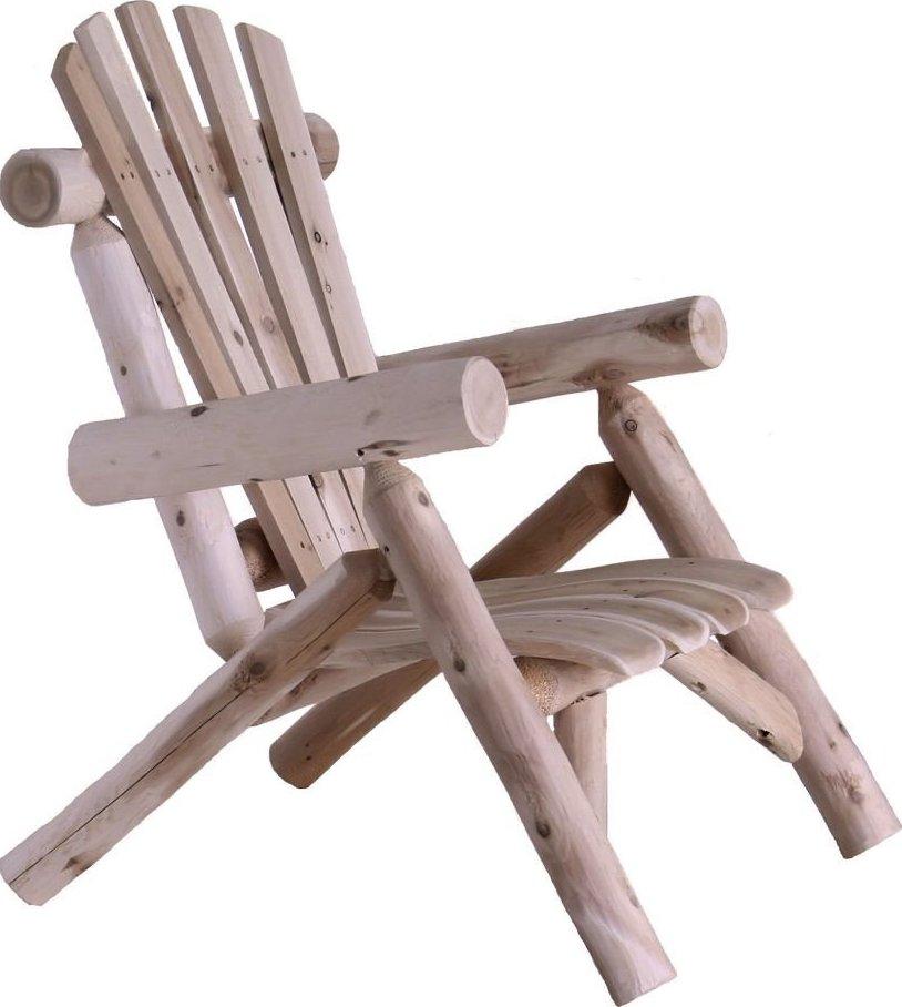 Lakeland Mills Outdoor Rustic Cedar Log Lounge Chair
