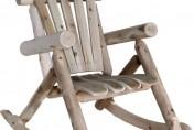 Lakeland Mills Outdoor Rustic Cedar Log Rocking Chair