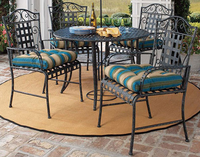 Image Result For Black Wrought Iron Patio Sets